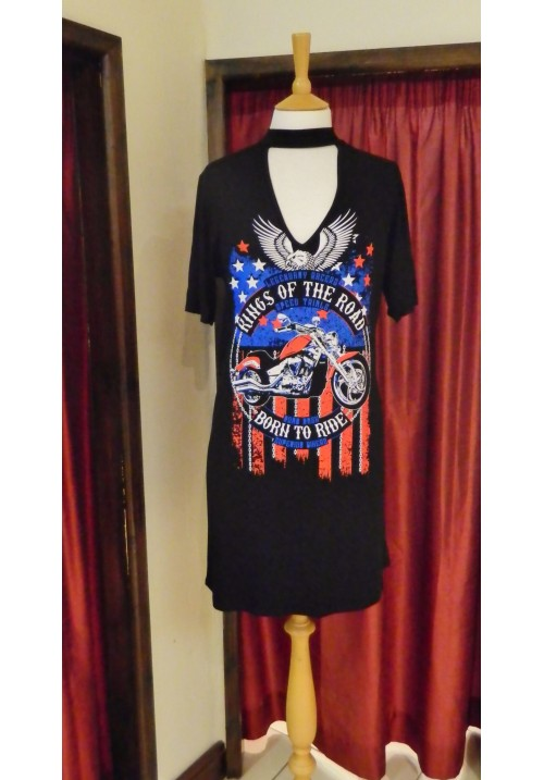 KINGS OF THE ROAD T-SHIRT DRESS