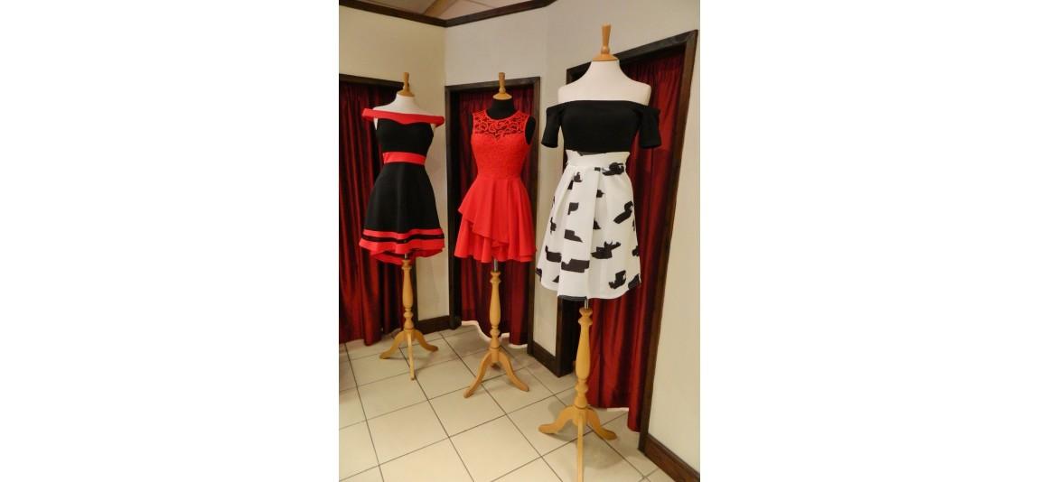MONOCHROME PRINTED SHIRT DRESS
