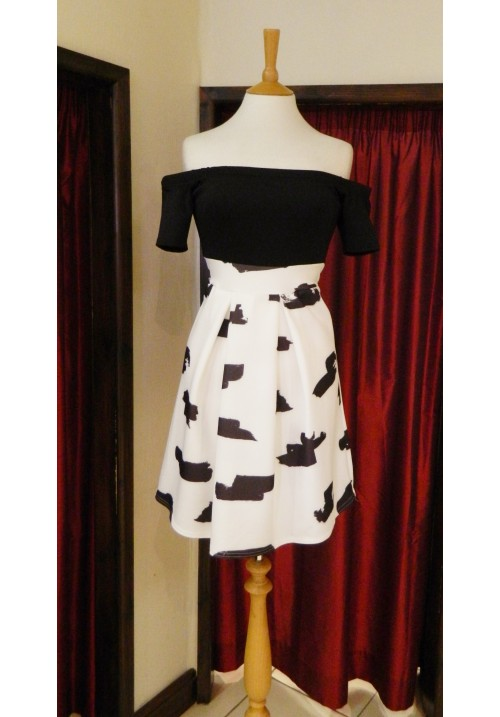 AMELIA BARDOT 2 IN 1 DRESS